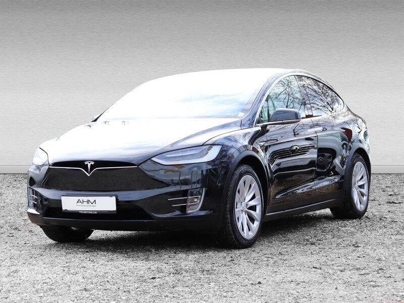 Tesla Model X 100D mieten in Freising vorne