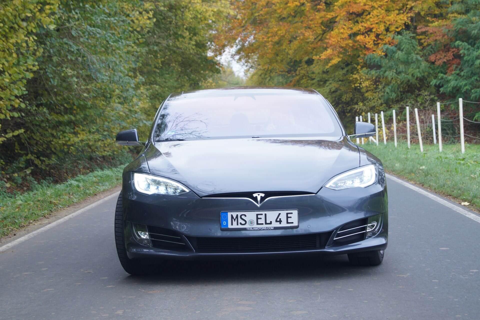 Tesla Model S Münster2