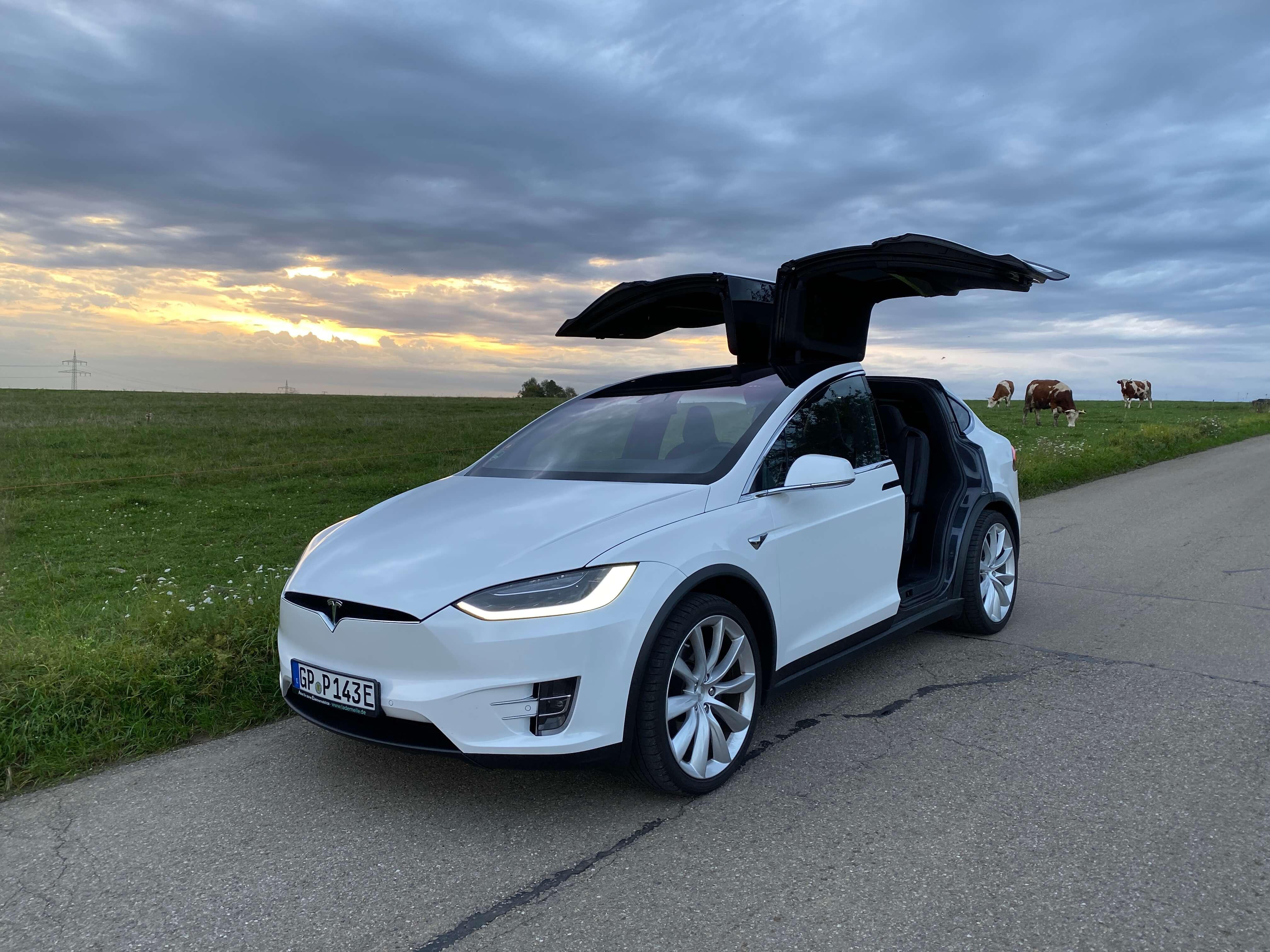 Tesla Model X mieten in Göppingen