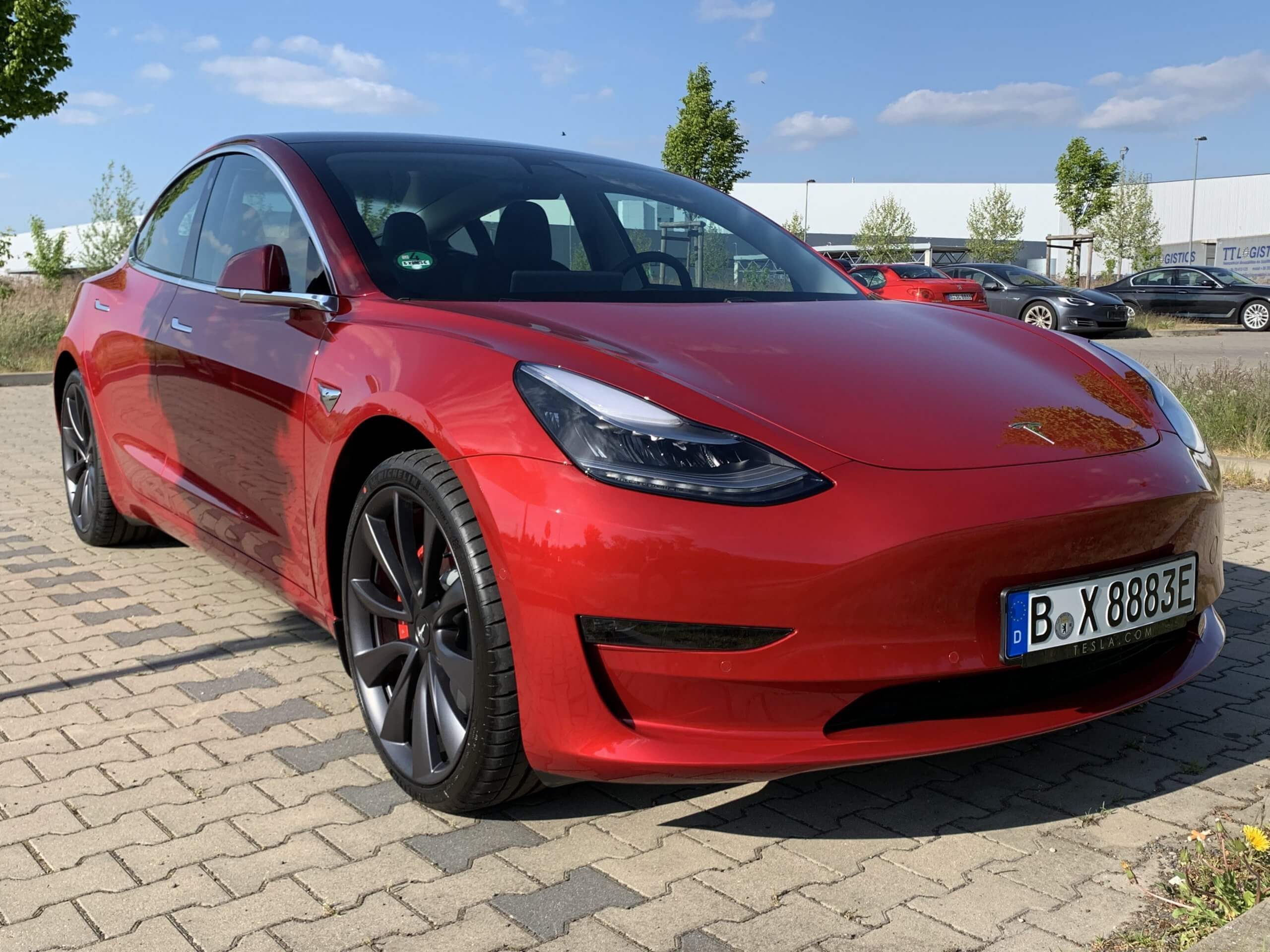Tesla Model 3 performance mieten Berlin